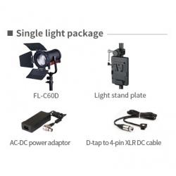 Swit FL-C60D 60W Bi-color Portable LED Spot Light