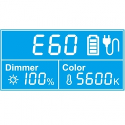 Swit PL-E60 Bi-Color SMD Panel LED Light
