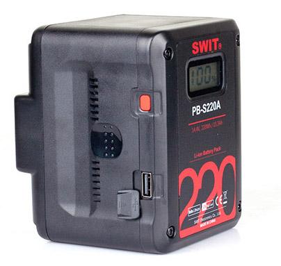 Swit Gold Mount battery Cinema