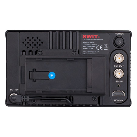 SONY NP-F970 NP-F770 battery mount